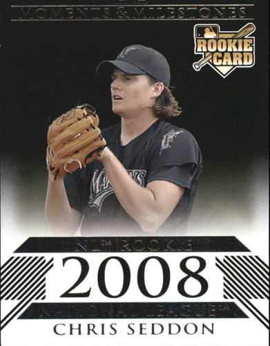 Photo of 2008 Topps Moments and Milestones Black #171 Chris Seddon