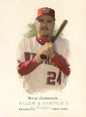 Photo of 2006 Topps Allen and Ginter #106 Nick Johnson