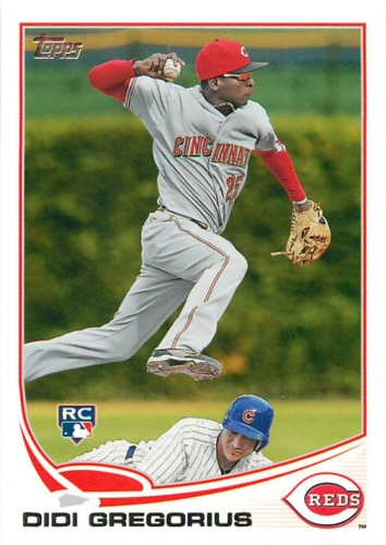 Photo of 2013 Topps #296 Didi Gregorius Rookie Card
