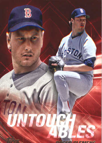 Photo of 2017 Topps Update Untouchables #U15 Roger Clemens