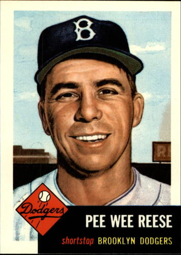 Photo of 1991 Topps Archives 1953 #76 Pee Wee Reese