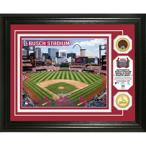 Photo of Serial #1! St. Louis Cardinals Dirt Coin Photo Mint