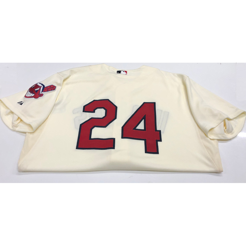Photo of Michael Bourn 2013 Alternate Home Jersey