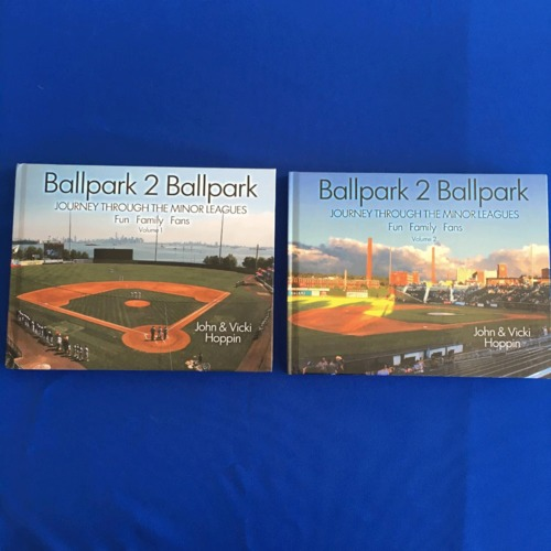Photo of UMPS CARE AUCTION: Ballpark 2 Ballpark Two-Book Set