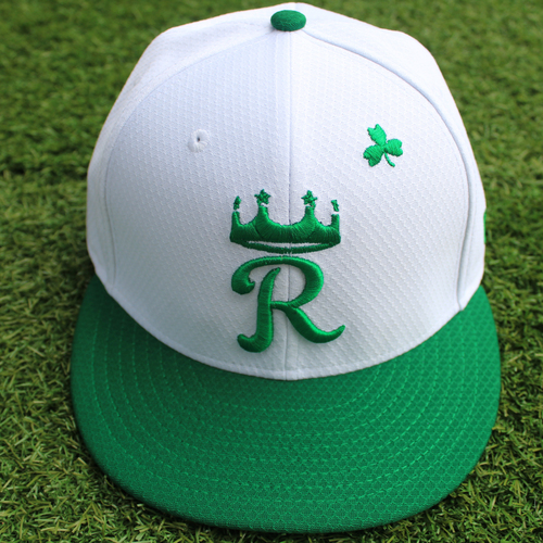 Photo of Team-Issued St. Patrick's Day Cap: Scott Barlow (Size 7 1/8)