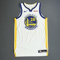 Alfonzo McKinnie - Golden State Warriors - 2019 NBA Finals - Game 3 - Game-Worn White Association Edition Jersey