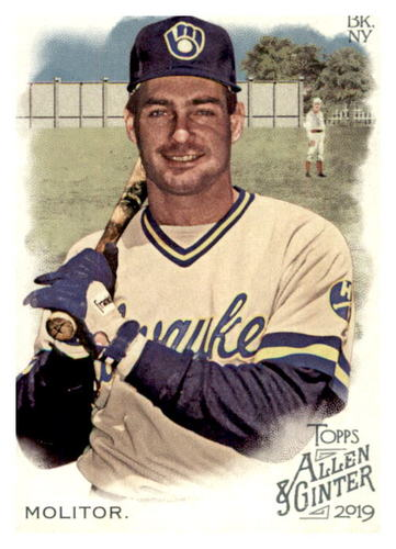 Photo of 2019 Topps Allen and Ginter #51 Paul Molitor