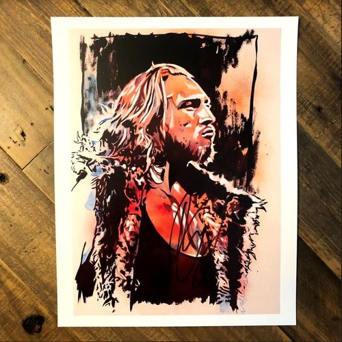 Photo of Pete Dunne SIGNED 11 x 14 Rob Schamberger Print