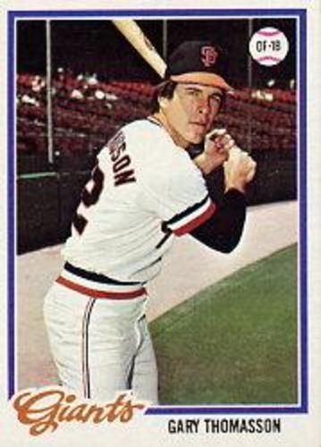 Photo of 1978 Topps #648 Gary Thomasson