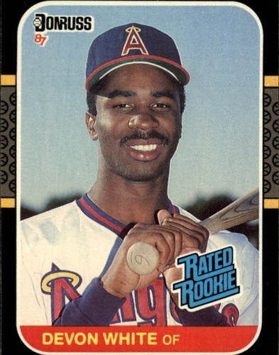 Photo of 1987 Donruss #38 Devon White RC