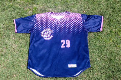 Justin Ferrell #29 Pink Jersey
