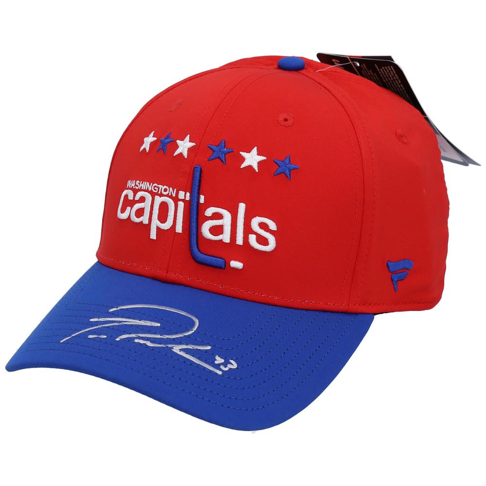 Tom Wilson Washington Capitals Autographed Alternate Jersey Cap - NHL Auctions Exclusive