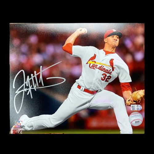 Jack Flaherty Autographed Photo