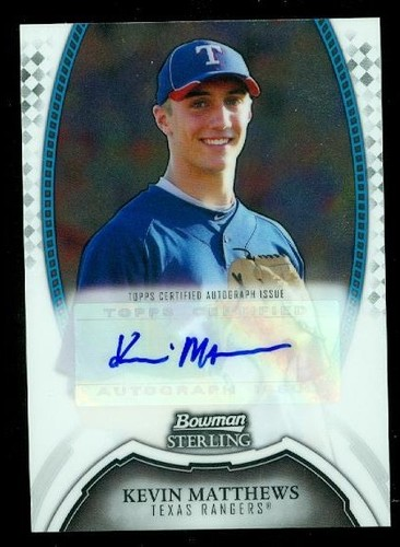 Photo of 2011 Bowman Sterling Prospect Autographs #KM Kevin Matthews