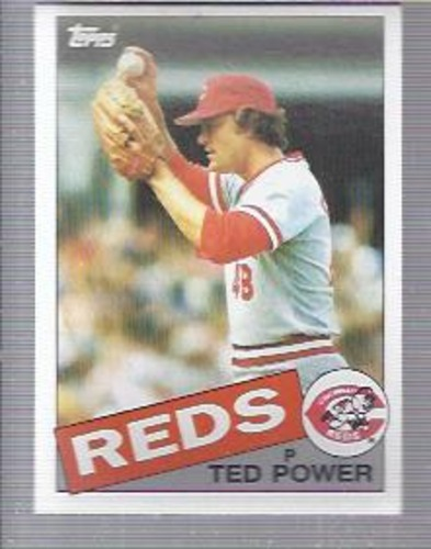 Photo of 1985 Topps #342 Ted Power
