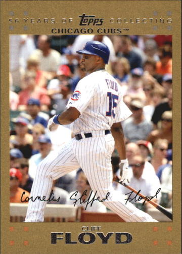 Photo of 2007 Topps Update Gold #64 Cliff Floyd