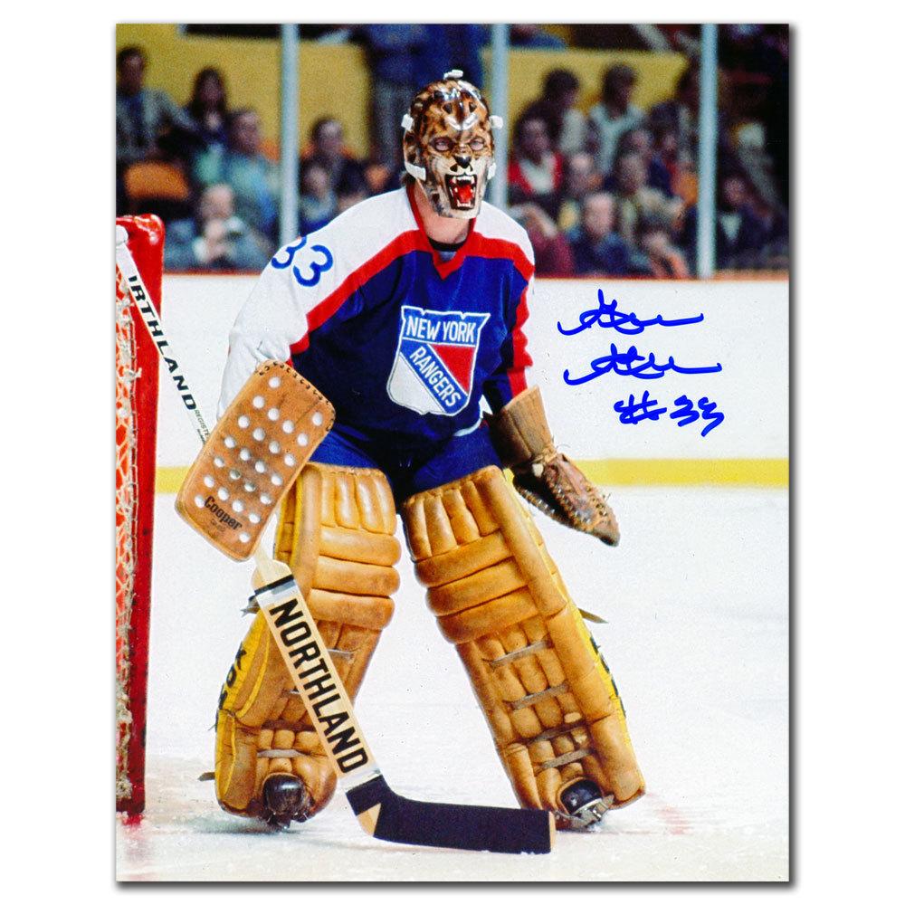 Gilles Gratton New York Rangers Autographed 8x10