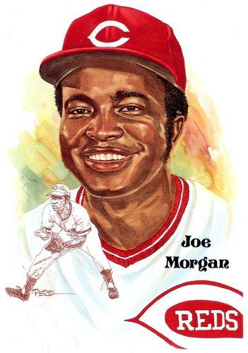 Photo of 1980-02 Perez-Steele Hall of Fame Postcards #205 Joe Morgan -- HOF Class of 1990