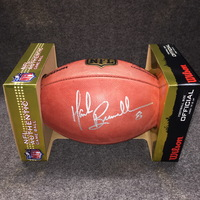 PCF - JAGUARS MARK BRUNELL SIGNED AUTHENTIC FOOTBALL