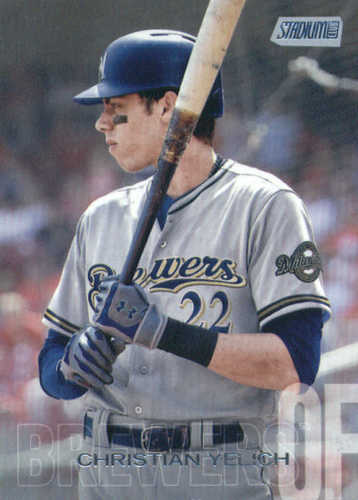Photo of 2018 Stadium Club #136 Christian Yelich
