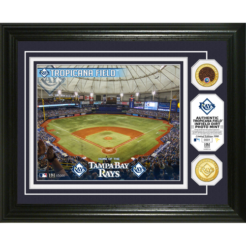 Photo of Serial #1! Tampa Bay Rays Dirt Coin Photo Mint