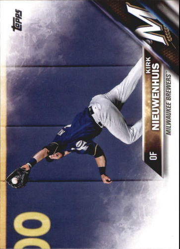 Photo of 2016 Topps Update #US263 Kirk Nieuwenhuis