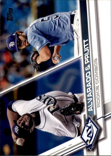 Photo of 2017 Topps Update #US147 Jose Alvarado RC/Austin Pruitt RC