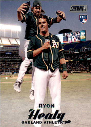 Photo of 2017 Stadium Club #104 Ryon Healy Rookie Card