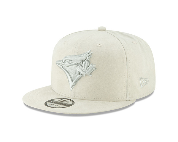 Toronto Blue Jays Spring Suede Grey Snapback Cap by New Era