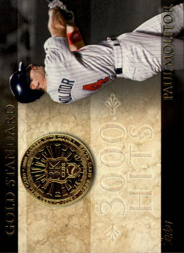 Photo of 2012 Topps Gold Standard #GS3 Paul Molitor