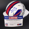 Bills - Tremaine Edmunds Signed Bills Mini Helmet