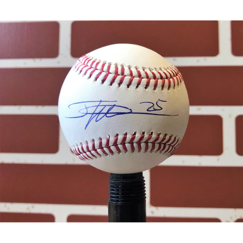 Photo of Jose Leclerc Autographed Final Season Logo Baseball