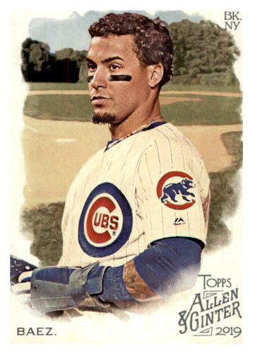 Photo of 2019 Topps Allen and Ginter #19 Javier Baez