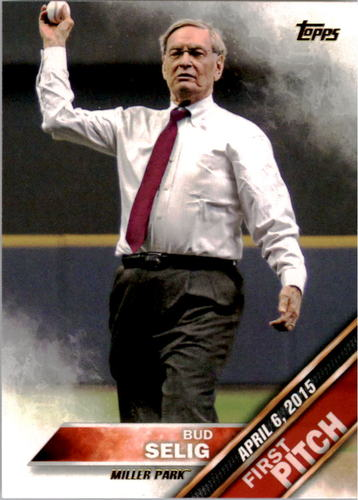 Photo of 2016 Topps First Pitch #FP12 Bud Selig