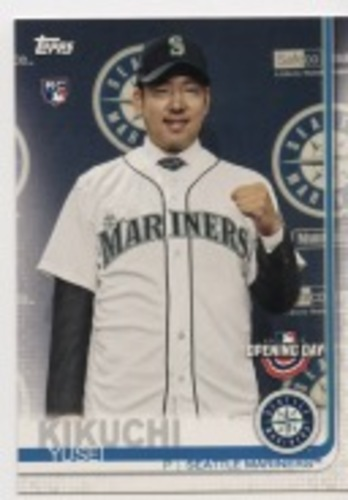 Photo of 2019 Topps Opening Day #55 Yusei Kikuchi RC