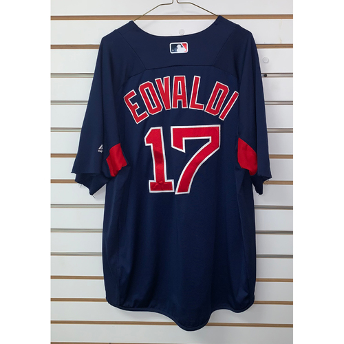 Photo of Nathan Eovaldi Team Issued Road Batting practice Jersey