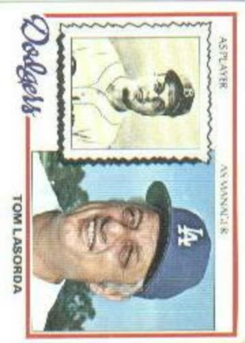 Photo of 1978 Topps #189 Tom Lasorda MG DP