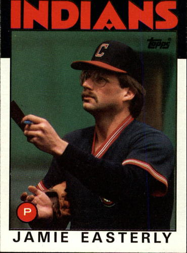 Photo of 1986 Topps #31 Jamie Easterly