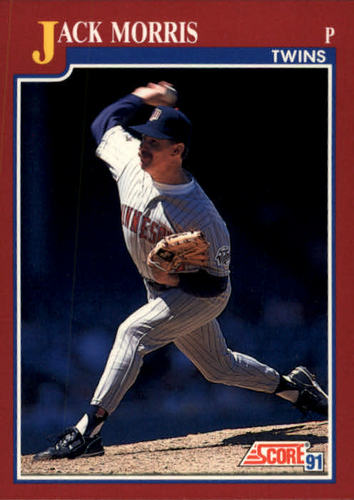 Photo of 1991 Score Rookie/Traded #74T Jack Morris