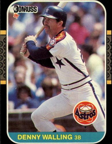Photo of 1987 Donruss #554 Denny Walling