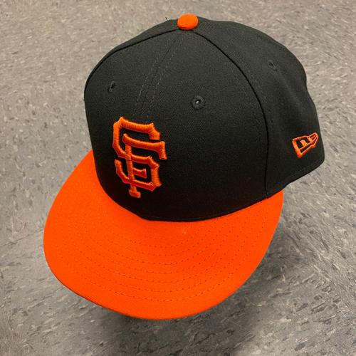 Photo of 2019 Team Issued Orange Bill Cap - #21 Shawon Dunston - Size 7 1/4