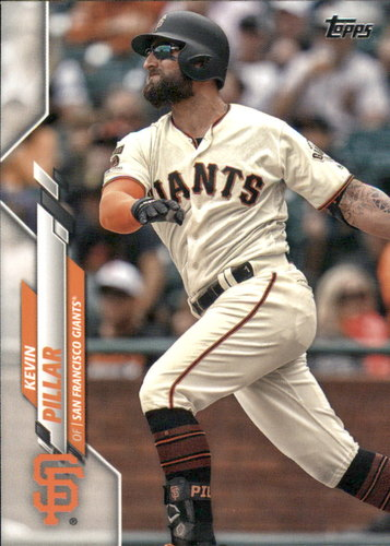 Photo of 2020 Topps #334 Kevin Pillar