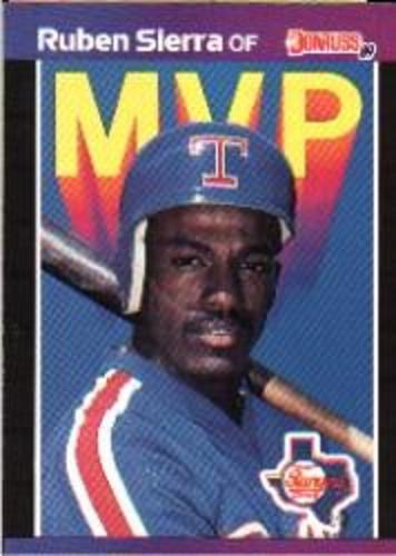 Photo of 1989 Donruss Bonus MVP's #BC26 Ruben Sierra