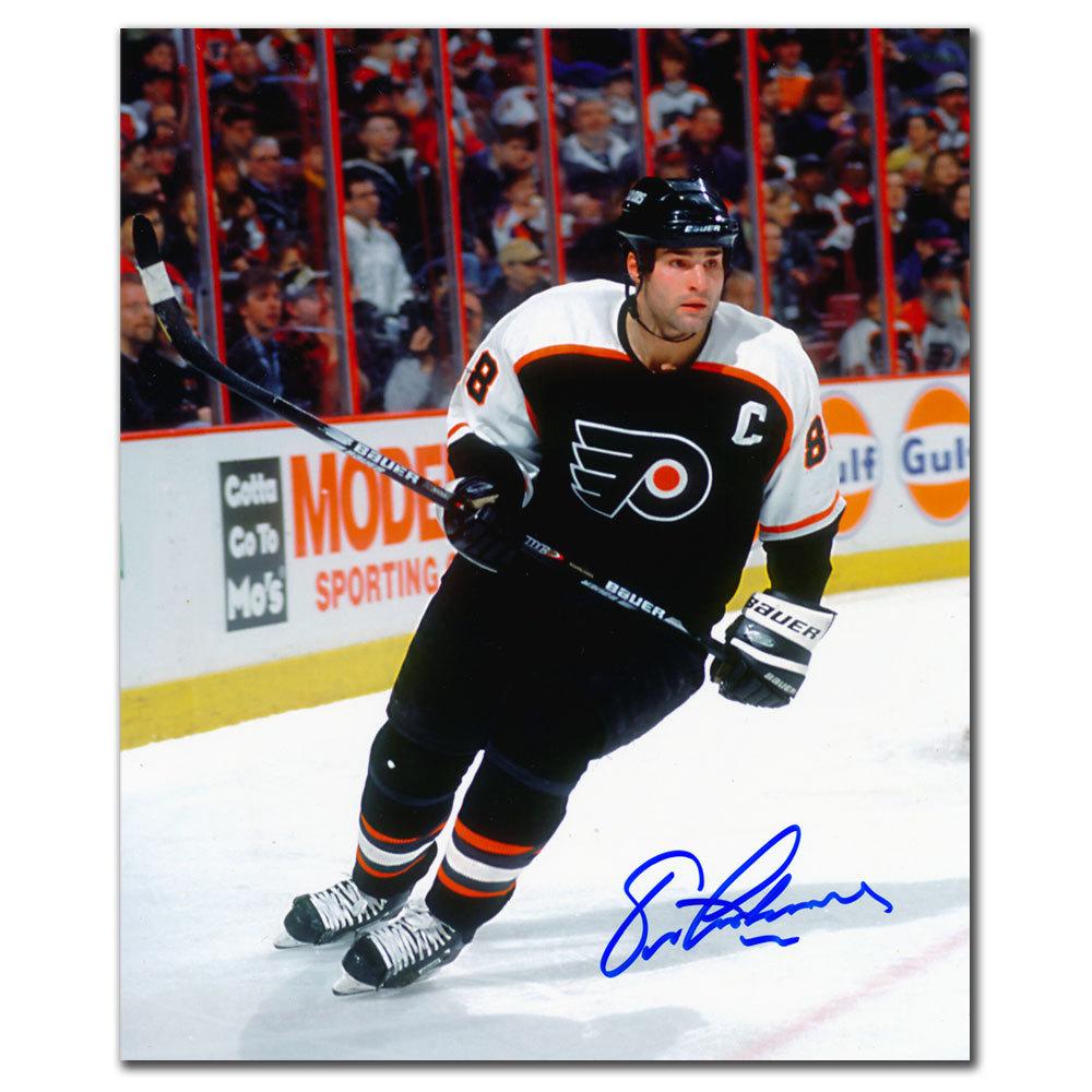 Eric Lindros Philadelphia Flyers RUSH Autographed 8x10