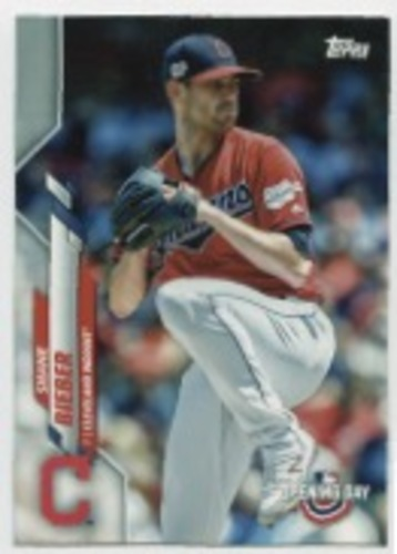 Photo of 2020 Topps Opening Day #136 Shane Bieber