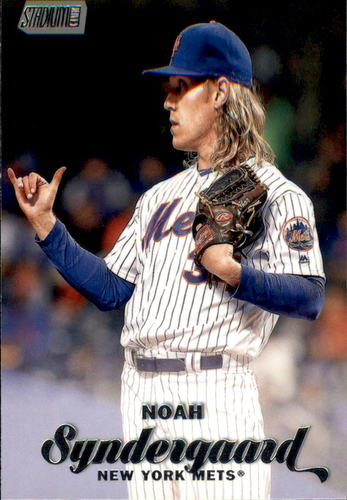 Photo of 2017 Stadium Club #3 Noah Syndergaard