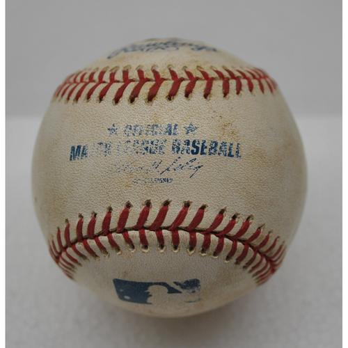 Photo of Game-Used Baseball - 8/20/2013 - Xander Bogaerts' MLB Debut Game