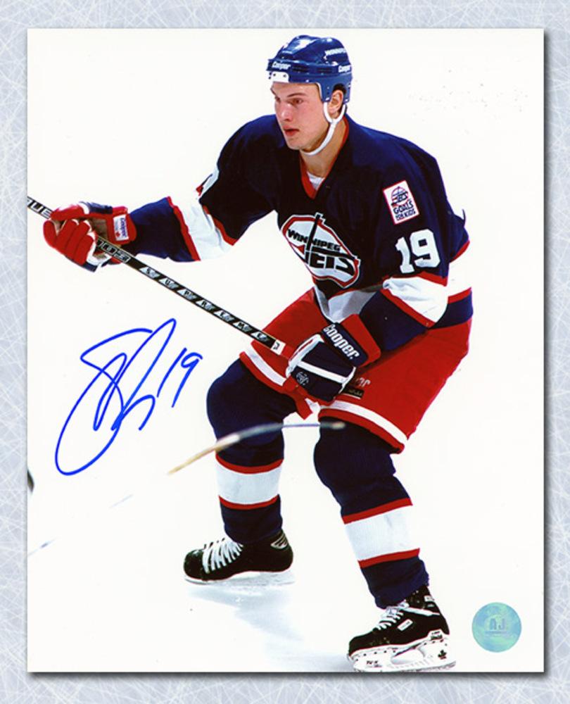 Shane Doan Winnipeg Jets Autographed Rookie 8x10 Photo