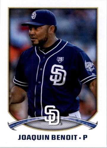 Photo of 2015 Topps Stickers #286 Joaquin Benoit