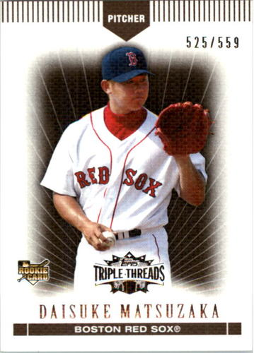 Photo of 2007 Topps Triple Threads Sepia #59 Daisuke Matsuzaka